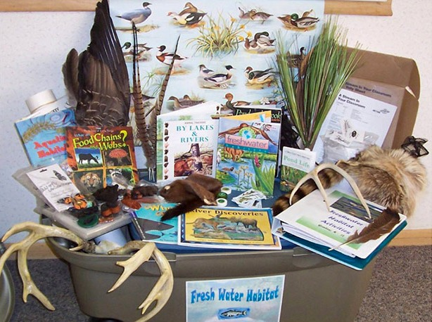 Fresh Water Habitat Classroom Kit available at Sauk River Watershed District