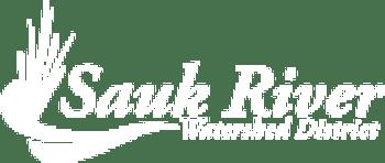 Sauk River Watershed District White logo