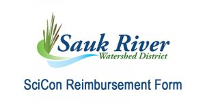 Sauk River Watershed District SciCon Reimbursement Form logo